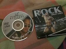 Wwe dvds the rock rare and out of print