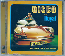 Disco Royal 1 (2004) 2CD NEW Valerie Dore The night. Dan Hartman Relight my fire