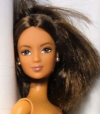 Rare Lea Barbie Belly button model Brunette Bendable legs