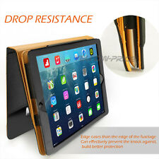 Leather Wallet Smart Cover Sleep/Wake Stand Flip Case Apple For iPad 2 3 4 Gen.