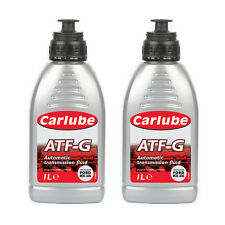 2 x Carlube ATF-G Automatic Transmission Power Steering Fluid Type 33G - 1 Litre