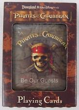 Disney World Parks Pirate's of the Caribbean Playing Cards with Case New