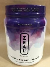 ZEAL FOR LIFE 30 Day Canister Bold Grape NEW Wellness Formula 11/17 Exp Date