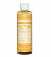 Dr Bronner`s Organic Citrus Castile Liquid Soap (237ml) All Natural - Vegan