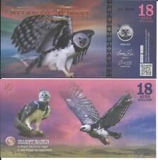 ATLANTIC FOREST BILLETE 18 AVES DOLLARS 2016