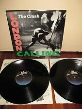 The Clash - LONDON CALLING Lp (1979) TOP 1ST PRESS Double Album Custom Inners NM
