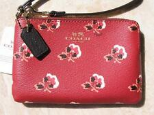 Coach Wristlet Bramble Rose Berry Multi New w Tags New Fall Colors!.. Many Uses!