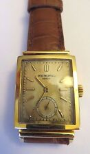 Vintage Patek Philippe Ref 1577 18k Solid Yellow Gold Wow Rare watch!