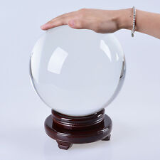 200MM Big Crystal Ball Quartz Sphere Photograpy Props Meditation Ball Home Decor
