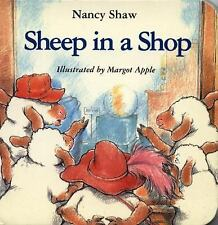 SHEEP IN A SHOP ~ NANCY SHAW ~ MARGOT APPLE ~ BOARD BOOK