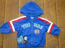 NWT Blue Thomas the Train Coat Jacket Size 12 months 12 mo Thomas and Friends