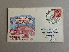 GB 1962 44th Philatelic Conference Envelope With Last Day Worthing Postmark