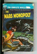 MARS MONOPOLY by Sohl & MAN WHO LIVED FOREVER, Ace #D162 sci-fi pulp vintage pb