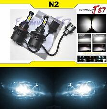 LED KIT N2 72W 9008 H13 6000K WHITE HEAD LIGHT PLUG PLAY REPLACE BRIGHT REPLACE