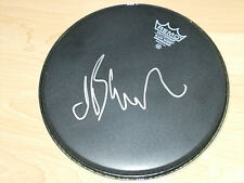 JET BLACK THE STRANGLERS SIGNED DRUMHEAD