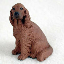 IRISH SETTER TINY ONES DOG Figurine Statue Resin Pet Lovers Gift