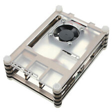 Negro Case Layer Case Cooling Fan for Raspberry Pi Model B+ Raspberry Pi 2 Shell
