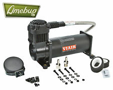 Viair 444C Stealth Black 12 Volt Air Compressor Kit (200PSI) Air Ride Air Lift