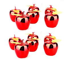 12x Christmas Tree Xmas Apple Decorations Baubles Party Wedding Ornament SD