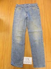 used Levi 901 relaxed straight fit grunge jean tag 34x34 Meas 32x34 zip14984