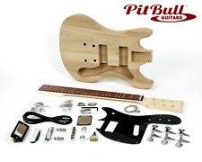 Pit Bull Guitars MKA-2 Electric Guitar Kit  (Ash)