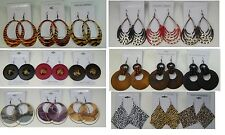 A-11 Wholesale Jewelry lot 10 pairs Mixed Style Winter Fashion Earrings
