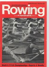 ROWING MAGAZINE - October/November 1983