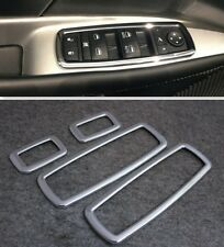 For jeep Grand cherokee 2011-2017 Chrome Interior Door Window Switch cover trims