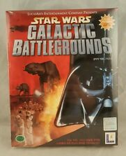 Star Wars: Galactic Battlegrounds (PC, 2001) BIG BOX GAME JAPANESE VERSION NEW