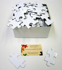 200 Piece Alternative Wedding Guest Book Puzzle White Blank Puzzle Pieces