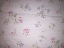 SIMPLY SHABBY CHIC CANDY FLORAL 100% COTTON Full Size Flat Sheet 82x99 Roses