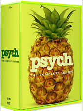 Psych: The Complete Series Seasons 1-8 (DVD, 31-Disc Box Set) - Brand New Sealed