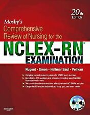 MOSBY'S COMPREHENSIVE REVIEW OF NURSING FOR NCLEX-RN EXAMINATION (PAPERBACK) NEW