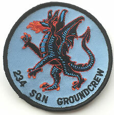 RAF No.234 Squadron Groundcrew Royal Air Force Embroidered Round Patch