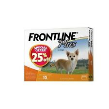 Frontline Plus 12 Pack for Small Dogs up to 10kg