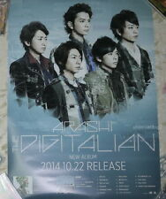 Arashi THE DIGITALIAN 2014 Japan Promo Poster