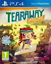 Tearaway Unfolded PS4 Playstation 4 Game New and Sealed
