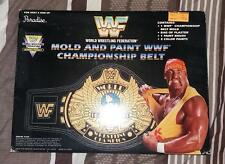 VERY RARE WWF HASBRO MOLD AND PAINT CHAMPIONSHIP BELT BY PARADISE TOYS.