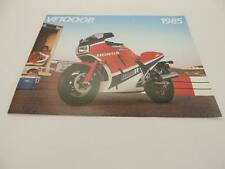 NOS 1985 VF1000R VF1000 Honda Dealer Brochure L33