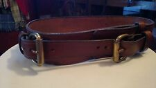 Vintage Womens Equestrian Leather Belt Small