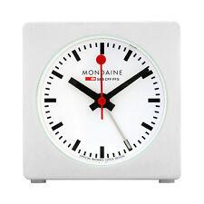 Mondaine White Dial Unisex Desk Clock A996.ALIG.10SBB