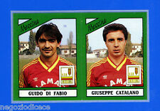 CALCIATORI PANINI 1987-88 - Figurina-Sticker n. 410 -DIFABIO#CATAL- MESSINA -Rec