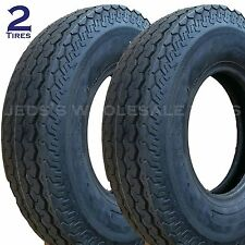TWO Trailer TIRES 5.00x10 500x10 5.00-10 500-10 Boat Camper Deestone D901 8 ply