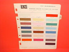 1957 OLDSMOBILE SUPER 88 HOLIDAY COUPE SEDAN 98 STARFIRE CONVERTIBLE PAINT CHIPS