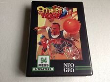 Neo Geo Mvs Street Hoop Rare Original With Shock Box Case !