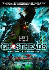 GHOSTHEADS : real heart of the ghostbusters - DVD - Region Free - Sealed