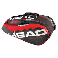Brand New Head TOUR TEAM 9R SUPERCOMBI Tennis Racquet Bag Black/Red 2016