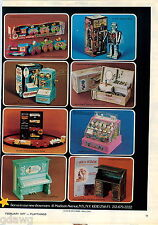 1977 ADVERT Toy Robot 2500 Battery Operated Barbie Doll Cash Register