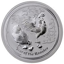 2017-P Australia $10 10 oz Silver Lunar Year Rooster (In Mint Cap) SKU43301