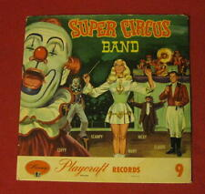 """""""SUPER CIRCUS BAND"""" 78 RPM TEN INCH 1950 ISSUE COVER SLEEVE ONLY LQQQK!"""